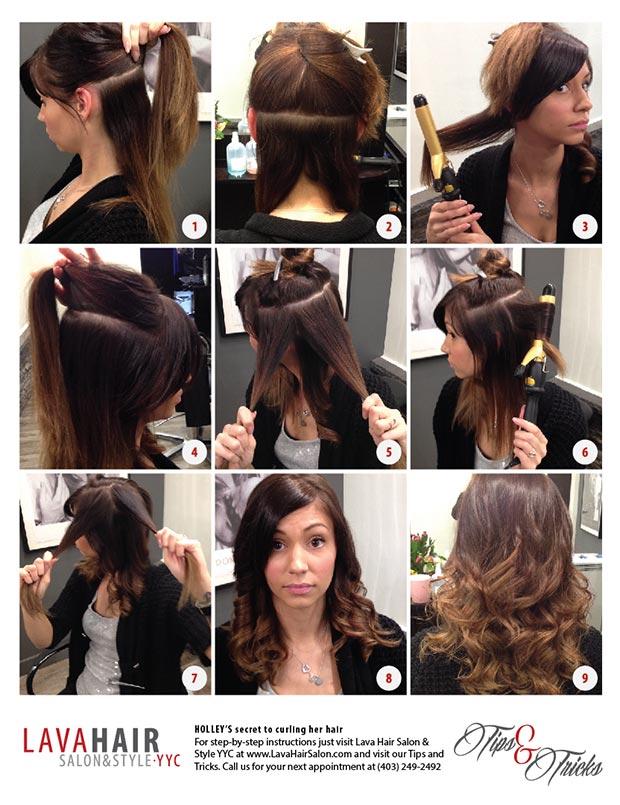 Holley Hair Curling Secret